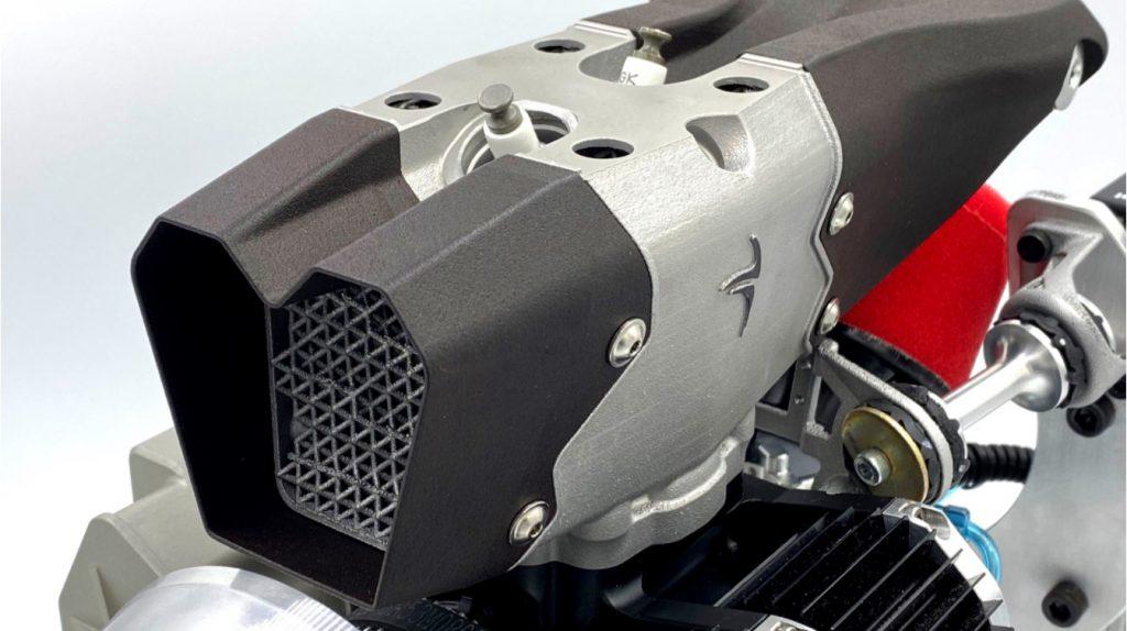 Cobra Aeroは、マルチフィジックスシミュレーションを使用して、UAVエンジンを熱緩和用に最適化します